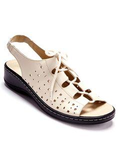 Sandales spécial pieds sensibles BEIGE+MARINE