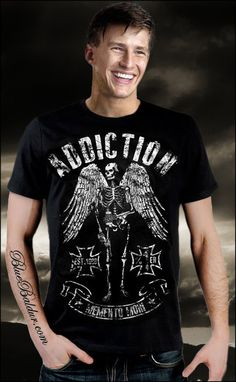 19257ea59 The MEMENTO MORI T-shirt by Addiction. Now at 20% discount!