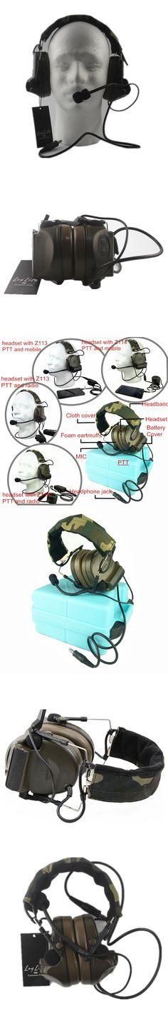 Z Tactical Headset Headphone COMTAC 2 Style Noise Reduction Headset for Airsoft Military Radio OD Z041