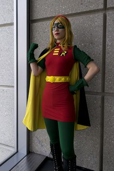 Stephanie Brown/Robin IV cosplay by In the Long Run costumes Stephanie Brown Robin, Robin Outfit, How To Run Longer, Cosplay, Costumes, Eye, Female, How To Wear, Outfits