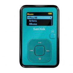 Sansa Clip+ MP3 player with FM Radio 4 GB - blue #HiWiX