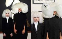 Sia at Grammy