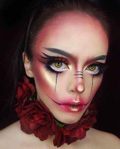 Halloween Makeup Look 👻🎃👻🎃👻 By: Cosmobyhaley Sfx Makeup, Cosplay Makeup, Costume Makeup, Makeup 101, Makeup Ideas, Halloween Looks, Halloween Face Makeup, Makeup Inspo, Makeup Inspiration