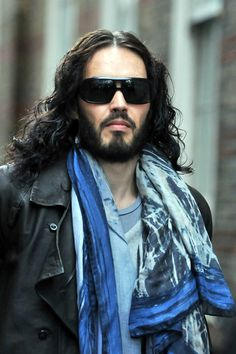 A somber Russell Brand spotted in London