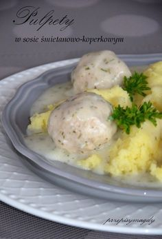 Food Decoration, Polish Recipes, Fall Recipes, I Foods, Food Inspiration, Mashed Potatoes, Food And Drink, Tasty, Lunch