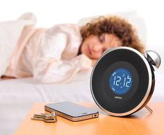 Tick Tock Bluetooth Clock, Edifier