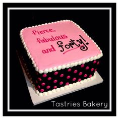 40th Birthday Cake For Women Party Bday Ideas 30th
