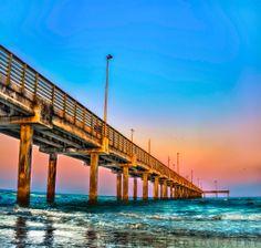 Bob Hall Pier, Corpus Christi Texas Texas Vacation Spots, Texas Vacations, Texas Roadtrip, Texas Travel, Best Vacations, Vacation Travel, Places To Travel, Places To See, Corpus Christi Texas
