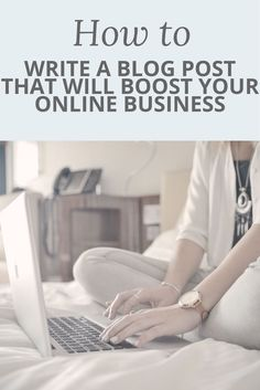 Blogging is a key tool in growing your online business - IF you do it right! Make sure that you're including all the key elements to writing a blog post that will boost your business by checking out this video post.