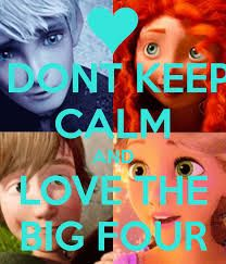 Keep Calm and Love the Big Four! What if you can't?