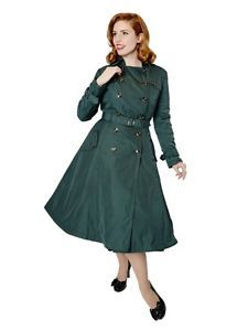 Collectif-Marlene-shower-proof-trench-coat-vintage-classic-50s-pin-up