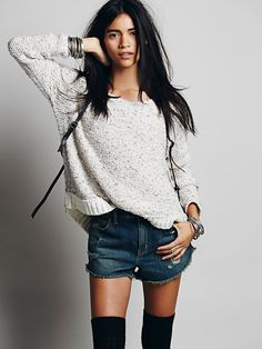 Free People Sunset Zippers Pullover, $128.00 OMG BOTH COLORS