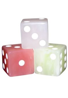 1.5 INCH PASTEL DICE AVAILABLE IN 3 COLORS