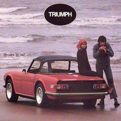 c1973 Triumph TR6 Brochure cover (F731)