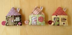 House Tape Measures | planning for some more moo cards :o) | PatchworkPottery | Flickr
