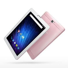 Yuntab 7 inch Android 6.0 3G Tablet pc Alloy Metal back Unlocked Smartphone Quad Core IPS 1024x600 Screen 1GB+8GB MID Phablet Pad 2800Mha with WIFI, GPS and Bluetooth Dual Camera (Rose Gold)   7 inch Awesome 3G Android 6.0 Lollipop Google Tablet with phone call function 1. The Quad Core power-efficient processor delivers great performan