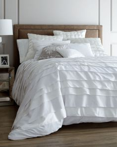 """""""Belgravia"""" White Bed Linens 