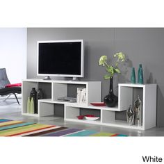 Stewart Sustainable Wood 77-inch Geometric Bookcase - Overstock™ Shopping - Big Discounts on Office Storage & Organization