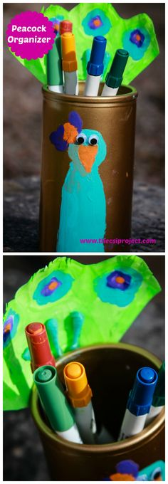 Fun kid craft: Peaco