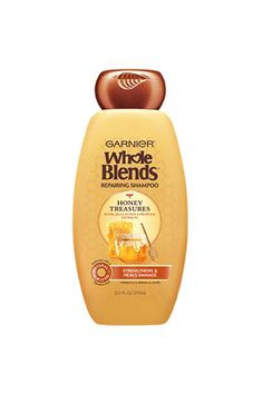 Whole Blends Repairing Shampoo Honey Treasures, For Damaged Hair Garnier Whole Blends Repairing Shampoo Honey Treasures - oz.Garnier Whole Blends Repairing Shampoo Honey Treasures - oz. Honey Shampoo, Shampoo For Damaged Hair, Damaged Hair Repair, Shampoo Bottles, Best Shampoos, Hand Care, Fragrance Parfum, Curly Hair Styles, Hacks