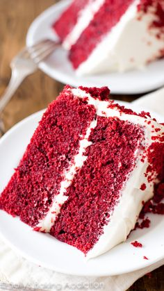 Red velvet cake is so much more than a white or chocolate cake tinted red. This iconic cake is a masterpiece of flavors, textures, and frosting. Learn all my tricks and tips to perfecting this classic recipe at home!