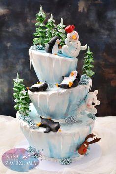 Funny Winter Cake by Nasa Mala Zavrzlama