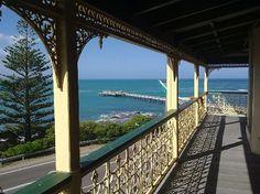 Grand Pacific Hotel Lorne: View from verandah #Australia http://www.tripadvisor.com.au/ShowForum-g255098-i277-Victoria.html