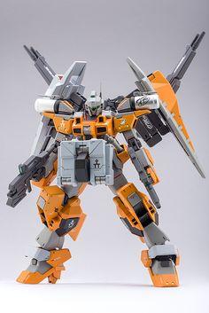 HG 1/144 Cardigan Gundam Advanced - Custom Build