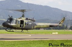 https://flic.kr/p/MyvRu6 | 73+63 / German Army / UH-1 Huey | Seen hover-taxying prior to departure from Zeltweg, this UH-1 was one of a pair of helicopters from the German Army (Bundeswehr) which were on static display at Airpower16.  Canon 50D Canon 24-105 L