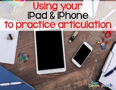 How to use your iCloud photos to easily practice articulation and a FREE download.