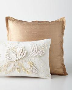 Silk+Pillows+at+Horchow.