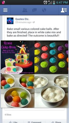 Cute idea for kids birthday cake (does this really work?)