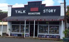 TALK STORY BOOKSTORE- Kauai's Only Secondhand, New & Out-of-Print Bookstore and the Largest Selection on Kauai! Monday - Thursday - 10am to 5pm  Friday - 10am to 9:30pm  Saturday - 10am to 5pm  (808) 335 - 6469