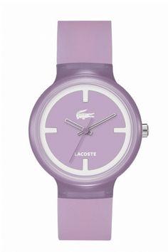 Lacoste Purple Goa watch
