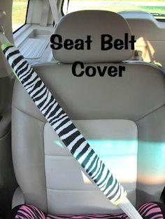 Mama To Three Chicks: Seat Belt Cover