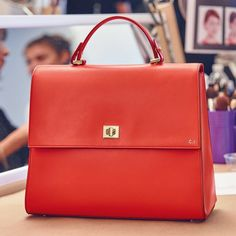 In bold lava red leather the #bossbespokebag makes an instant impact - Shop now for hugoboss > http://ift.tt/1Ja6lvu