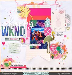 Are you into the swing of Summer yet? If not then the #april2017 #hipkits are sure to get you in the mood just as they have for designer @kjstarre with this gorgeous layout!  @hipkitclub #hkcexclusives #exclusives #hipkitclub #hipkit #hipkitexclusives #mixedmedia #watercolors @cratepaper #oasis #CPoasis #tropical #papercrafting #kitclub #scrapbookkits #scrapbookingkitclub #scrapbooking