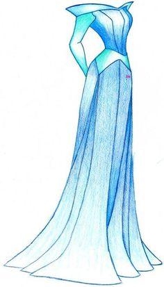 Aurora's Dress by MOD37.deviantart.com