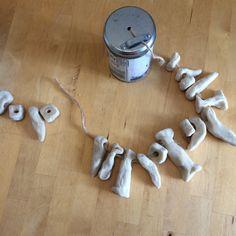 How to Make A Bone Necklace From Salt Dough: Stone Age Fancy Dress – The Jammy Jigsaw Stone Age Ks2, Fred Feuerstein, Prehistoric Age, Ice Age, Salt Dough, Bronze Age, Projects For Kids, Art School, Fancy Dress