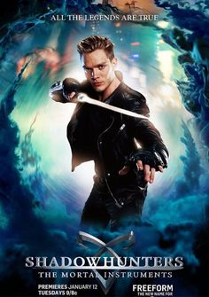 Jace Shadowhunters TV Poster