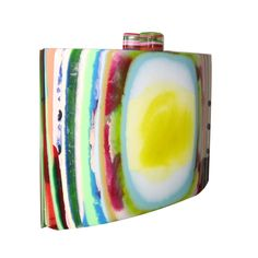 Resin Pop Square Clutch by Sobral