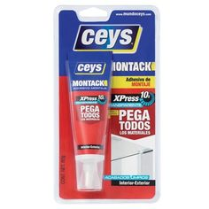 CEYS MONTACK XPRESS TRANSPARENTE BLISTER 80GR