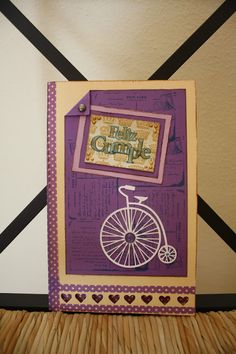 scrapbooking: Bicycle