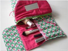 Kosmetiktasche mit Spiegel: Der zweite Versuch
