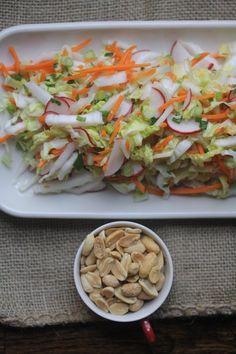 Thai Peanut Slaw #lunchbox