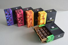 Boxes for chocolates on Behance