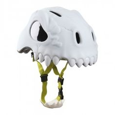 CASCO WILD SKULL, GLOW IN THE DARK Timbres y cascos de seguridad para niños Crazy Safety de corazón canalla e-shop