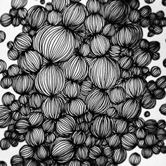 Bubble bubble toil and...  Great tangling detail by @annikahelene.dk -  #closeup #details #drawing #illustration #tangled #fineliner #lineart #intricate #abstract #artwork #circles #bubbles #ink #pen #zentangle #zendoodle #doodle #art #blackandwhite #iblackwork #blackflashwork #hearttangles #artcomplex #mysteadtler #Paperblanks #journal #Regrann #rainbowdoodlers - more @ RainbowDoodlers.com