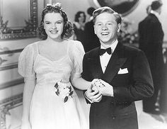 Judy Garland and Mickey Rooney, as Betsy Booth and Andy Hardy in Love Finds Andy Hardy