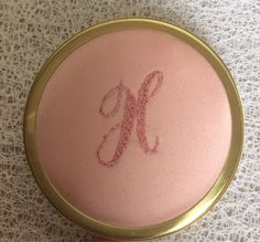 Personnalized Embroidered Compact Mirror by MadeToMarry on Etsy